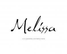 tattoo-design-name-melissa-01