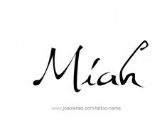 tattoo-design-name-miah-01