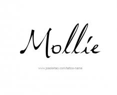 tattoo-design-name-mollie-01