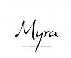 tattoo-design-name-myra-01