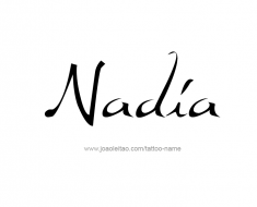 tattoo-design-name-nadia-01