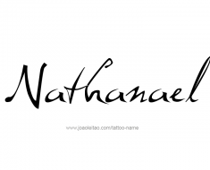 tattoo-design-name-nathanael-01