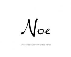 tattoo-design-name-noe-01