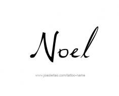 tattoo-design-name-noel-01