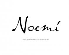 tattoo-design-name-noemi-01