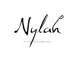 tattoo-design-name-nylah-01