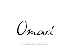 tattoo-design-name-omari-01