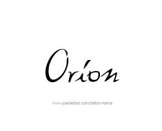 tattoo-design-name-orion-01