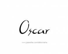 tattoo-design-name-oscar-01