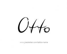tattoo-design-name-otto-01