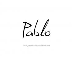 tattoo-design-name-pablo-01