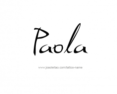 tattoo-design-name-paola-01