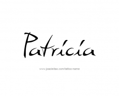 tattoo-design-name-patricia-01