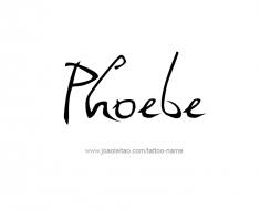 tattoo-design-name-phoebe-01
