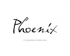 tattoo-design-name-phoenix-01