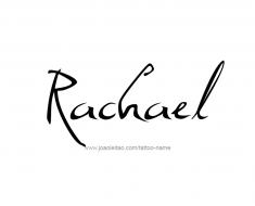 tattoo-design-name-rachael-01