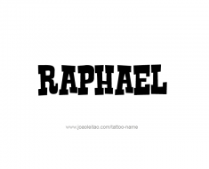 tattoo-design-name-raphael-01