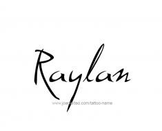 tattoo-design-name-raylan-01