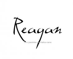 tattoo-design-name-reagan-01