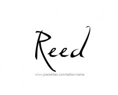 tattoo-design-name-reed-01