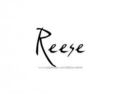 tattoo-design-name-reese-01