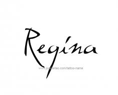 tattoo-design-name-regina-01