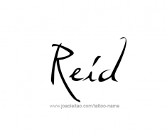 tattoo-design-name-reid-01