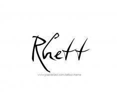 tattoo-design-name-rhett-01