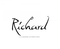 tattoo-design-name-richard-01