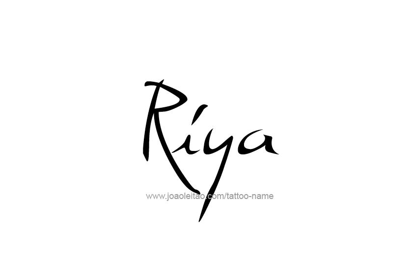 tattoo-design-name-riya-01
