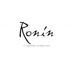 tattoo-design-name-ronin-01