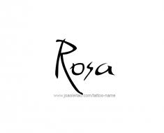 tattoo-design-name-rosa-01
