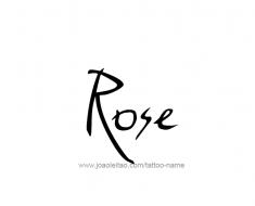 tattoo-design-name-rose-01