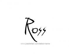 tattoo-design-name-ross-01