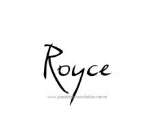 tattoo-design-name-royce-01