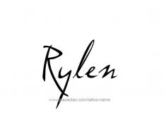 tattoo-design-name-rylen-01