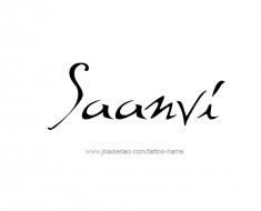 tattoo-design-name-saanvi-01