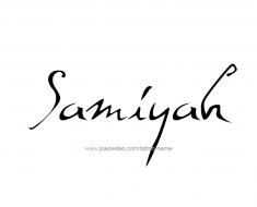 tattoo-design-name-samiyah-01
