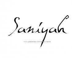 tattoo-design-name-saniyah-01