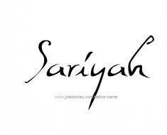 tattoo-design-name-sariyah-01