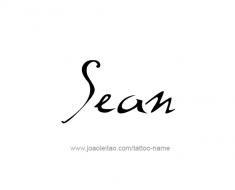 tattoo-design-name-sean-01
