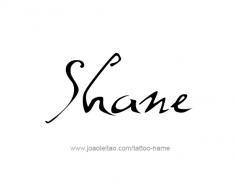 tattoo-design-name-shane-01