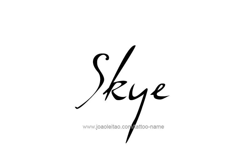 skye writing