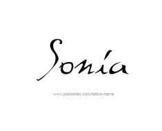 tattoo-design-name-sonia-01