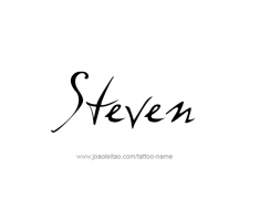 tattoo-design-name-steven-01