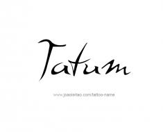 tattoo-design-name-tatum-011