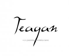 tattoo-design-name-teagan-01