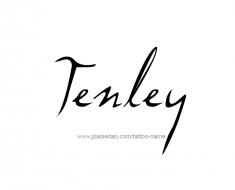 tattoo-design-name-tenley-01