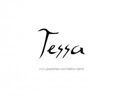 tattoo-design-name-tessa-01