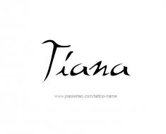 tattoo-design-name-tiana-01